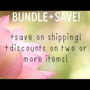 Other - 🛍SAVE ON SHIPPING WHEN YOU BUNDLE 🛍
